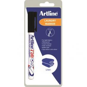 Textilpenna Artline 750 svart 1-blister