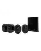 Arlo VMS5440 - Sats med kameror - trådlös - 4 kameror - svart