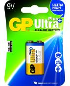 Batteri GP Ultra Plus 9V 6LF22 1/FP
