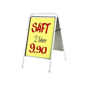 Gatuställ Sign Vit, 50x70cm