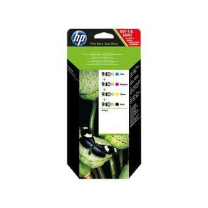 HP 940XL - 4-pack - Lång livslängd - svart,