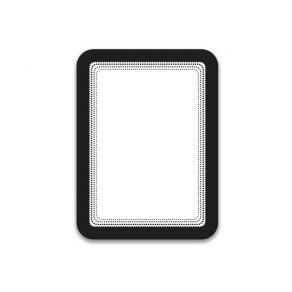 Magnetram TARIFOLD A6 svart 2/FP