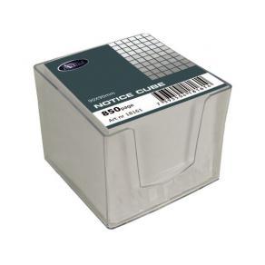 Blockkub, transparent plastbox, 10x10x10cm
