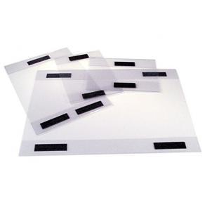 Magnetficka A4, stående, PVC-plast