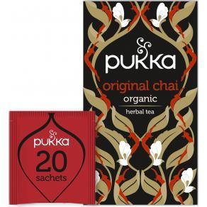 Te PUKKA Svart Original Chai 20/FP