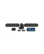 Logitech Room Solutions for Zoom include everything you need to