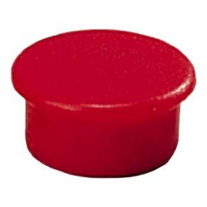 Magnetknappar DAHLE 13mm röd 10/FP
