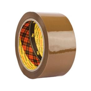 Packtejp SCOTCH PP 50mmx66m Brun