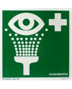 Eye wash station Sign Cederroth EOL