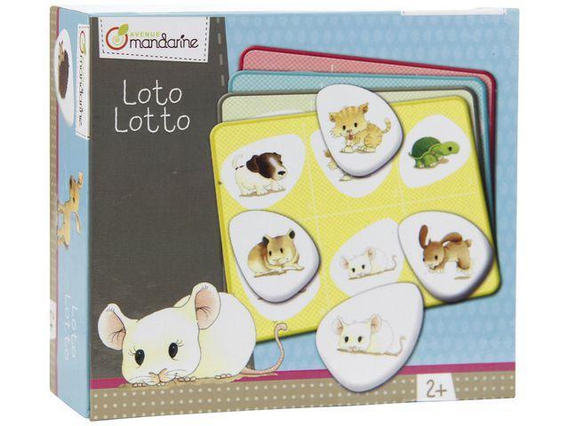 Spel Lotto Husdjur