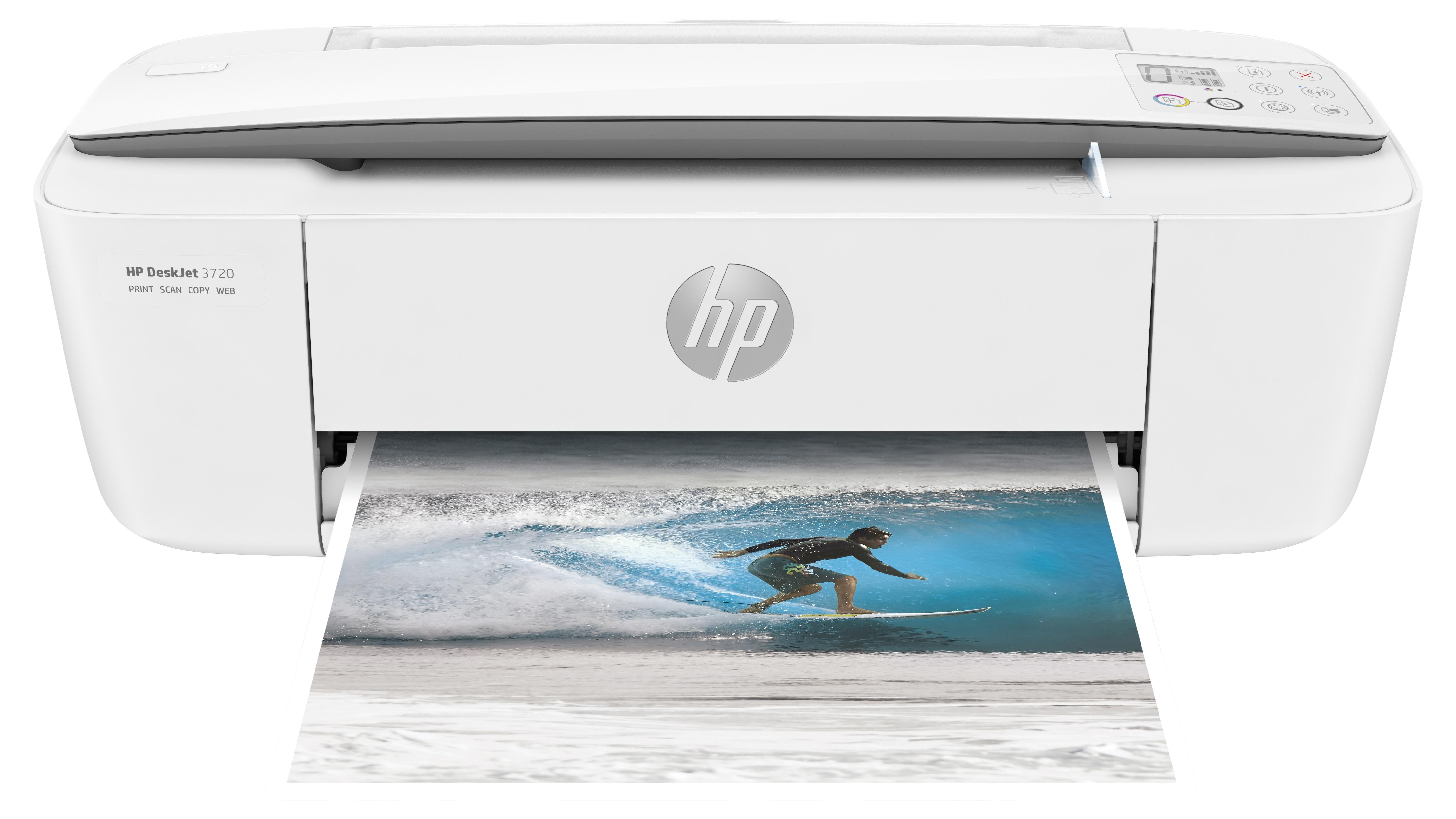 HP Deskjet 3720 AiO printer white