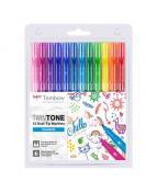 Tombow TwinTone Rainbow 0,3/0,8 (12)