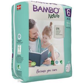 Blöja BAMBO Nature S6 16+kg 20/FP