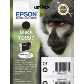 Epson T0891 - 5.8 ml - svart - original