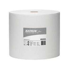 Industritorkrulle KATRIN Plus XL Vit, 1-lag, 1110m/rl