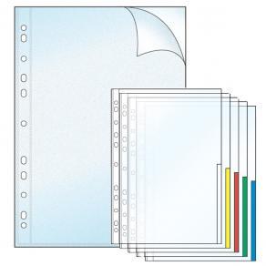 Signalficka A4 blandade färger, 10/fp
