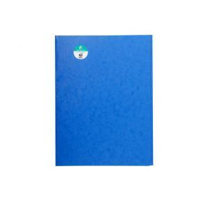 Mapp kartong EXACOMPTA 3-klaff A4 blå