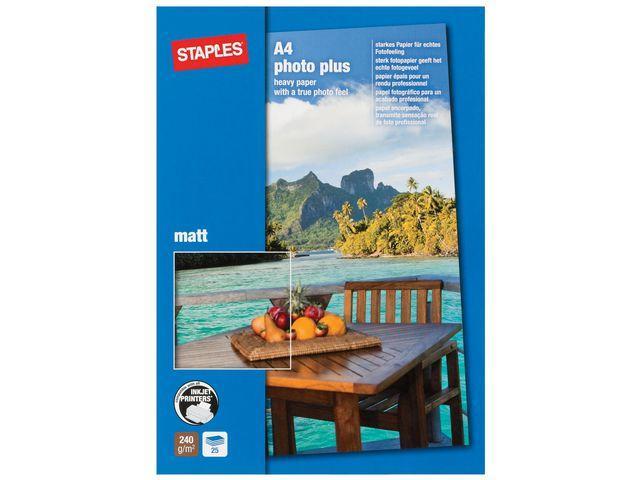 Fotopapper Premium A4 matt 25/FP