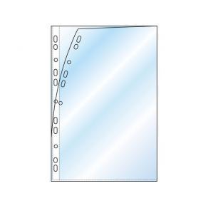 Plastficka/Omslag A4, öppen kort- och långsida, 100st
