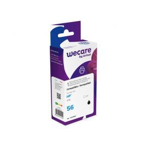 Bläckpatron WECARE HP 56 Svart