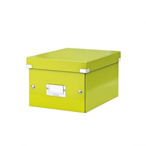 Förvaringslåda Liten Click & Store WOW Grön, 6st