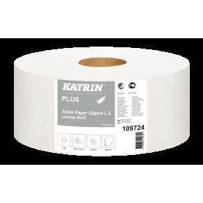 Toalettpapper KATRIN Plus Gigant M2, 2-lager, 310m, 6/fp