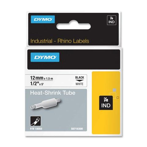 Tape Rhino 12mmx1,5m shrink tube bl/whi