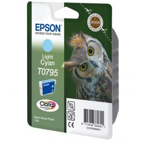 Epson T0795 - 11 ml - ljus cyan - original