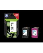 Bläckpatron HP N9J72AE 301 BK/CL 2/FP