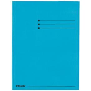 Kartongmapp A4 3-klaff Rainbow blå