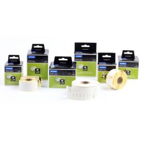 Etiketter Dymo LW Adress, vit, 89x36mm, 2x260/fp