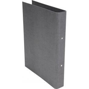 Ringpärm Bigso canvas grå