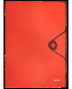 Projektmapp Leitz Solid PP A4 ljusröd