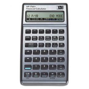 Räknare finans HP 17BII+ med nordisk manual