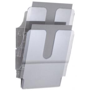 Blankettfack Durable Flexiplus Transparent, A4S, 2/fp