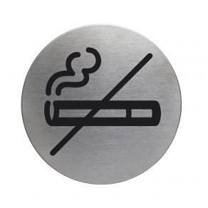 Skylt Rökning ej tillåten DURABLE 83mm