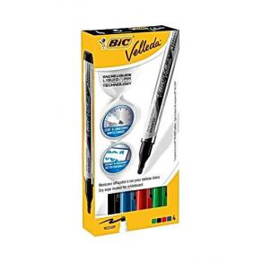 Whiteboardpennor - Whiteboardpenna BIC Velleda liquid 4/FP