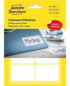 Etikett handskriv 54x35 mm 224/FP