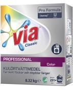 Tvättmedel VIA Prof. Color 8,32kg