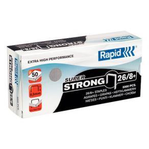 Häftklammer Rapid 26/8+ Super Strong, 50ark, 5000/fp