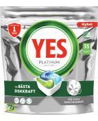 Yes Platinum maskindisk 35-p