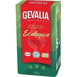 Kaffe och chokladpulver - Kaffe GEVALIA Ecologico mellanrost 450g