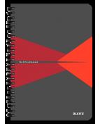 Anteckningsblock LEITZ kart A5 linj röd