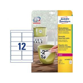 Etikett Avtagbar stark 99,1x42,3 240/FP
