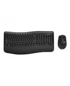 Microsoft Wireless Comfort Desktop 5050 - Sats med tangentbord