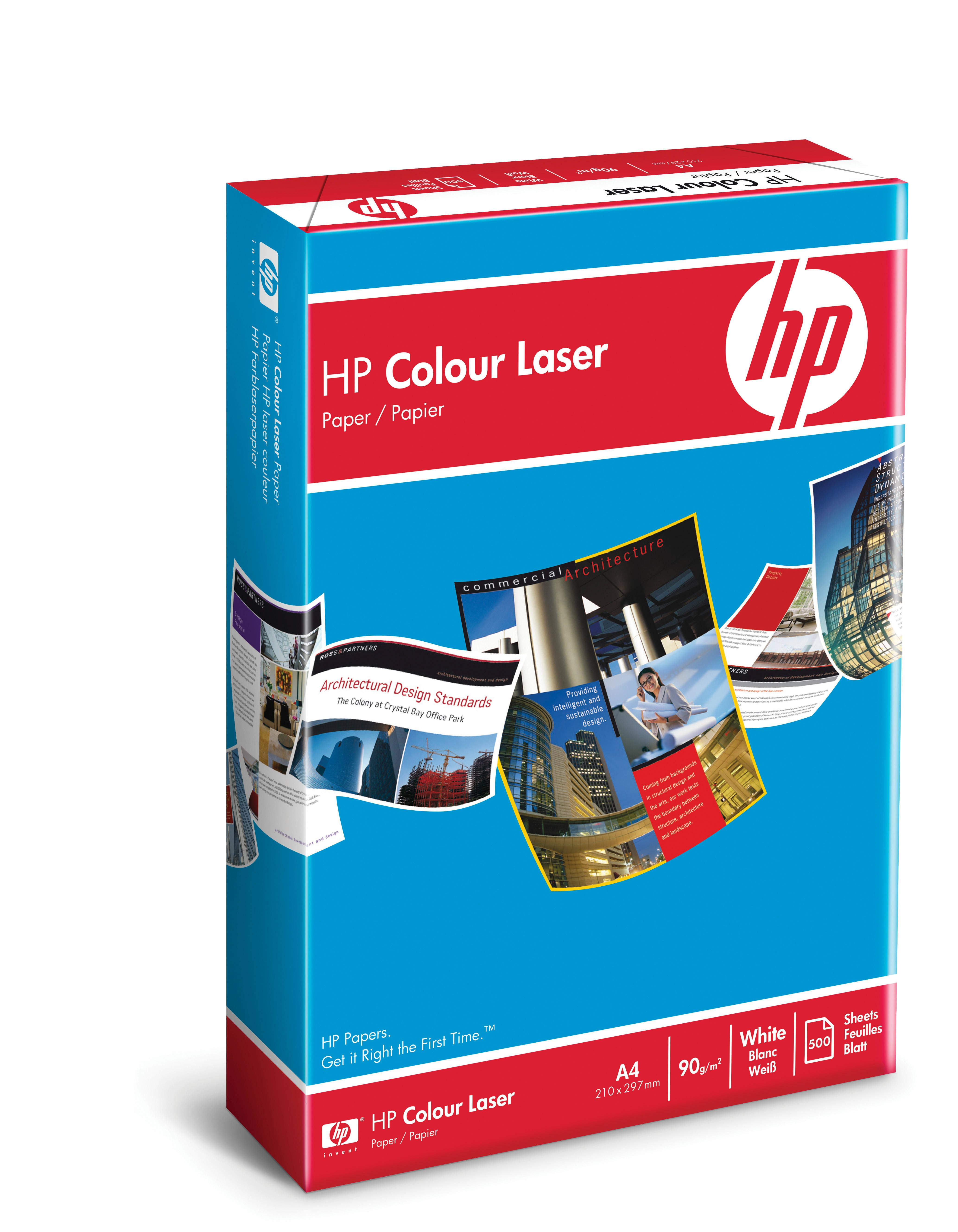 Kopieringspapper HP Colour Laser A4 90g 500/FP