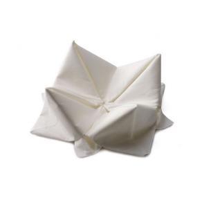 Servett Vit, 3-lager, 33x33cm, 125/fp