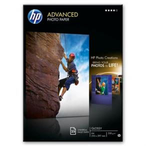 HP Advanced Glossy Photo Paper - Blank - A4