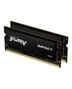 Kingston FURY Impact - DDR4 - sats - 64 GB: 2 x 32 GB - SO DIMM