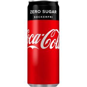 Dricka COCA-COLA ZERO Burk 33cl